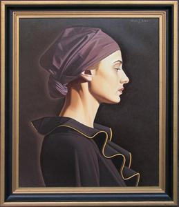 A Girl with a Turban